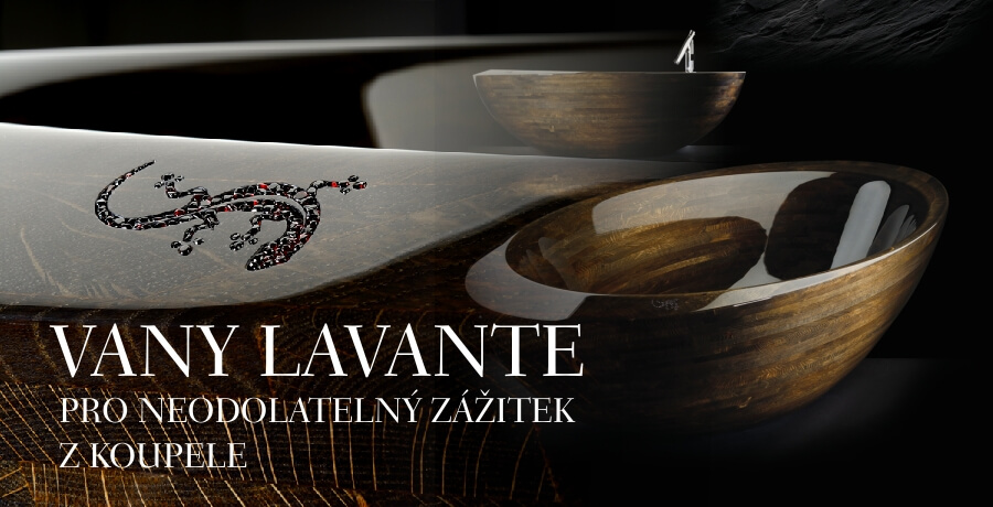 Luxusní vany Lavante