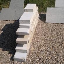 Štípané vápencové kamenné bloky - FS06